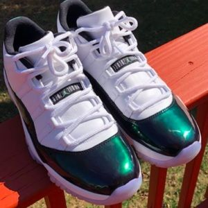 "Air Jordan 11 Retro ""Esmerald"" kids"